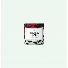 The Gift Label Geurkaars Thank you / cotton / 310 g