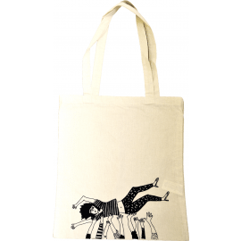 Totebag Crowdsurfing Girl