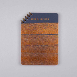 Hot Copper Wirebook 45° - blue