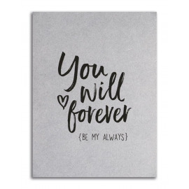 You will be forever my always