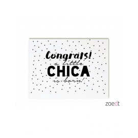 Congrats! A little chica is born!