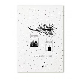 Postkaart Een magische kerst / Zoedt