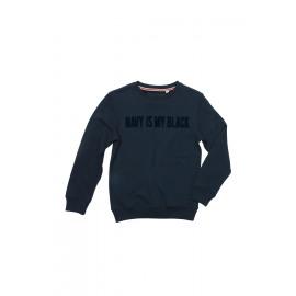 Brian-Sweater Print (BLACK)