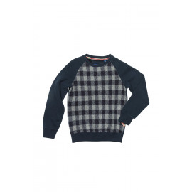Brian-Sweater Geruit