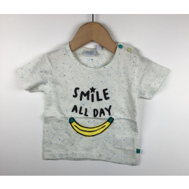 Feetje-T-Shirt Print (BANAAN)