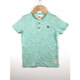 A.O.-T-Shirt Gestreept (KNOOPJES)