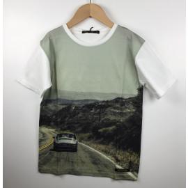 Finger-T-Shirt Print (PORCHE)