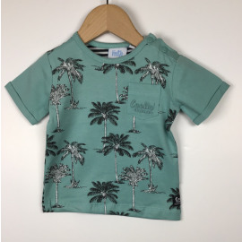 Feetje-T-Shirt Print (PALM ALLOVER)