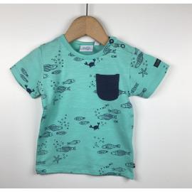 Feetje-T-Shirt Print (VISJES)