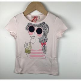 Lili-T-Shirt Print (MEISJE BRIL)