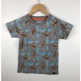 StonesBones-T-Shirt Print (ALLOVER KROKODIL)