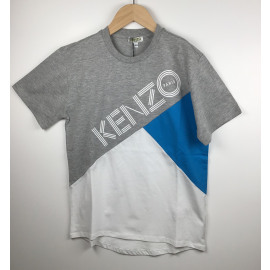Kenzo-T-Shirt Print (COLRBLOCK)