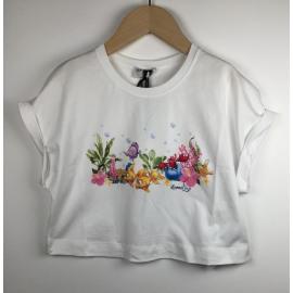 Monnalisa-T-Shirt Print (KORT VISJES)