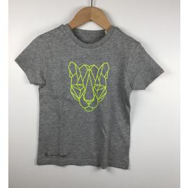 LaVie-T-Shirt Print (TIJGER FL.GROEN)