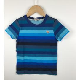 PaulSmith-T-Shirt Gestreept