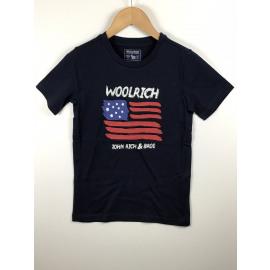 Woolrich-T-Shirt Print (VLAG)