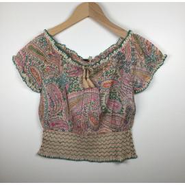 TwinSet-Blouse Print (BOHEMIEN)