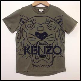 F2/KENZO/T.SHIRT KAKI