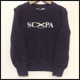 F2/SCAPA/SWEATER LOGO MARINE