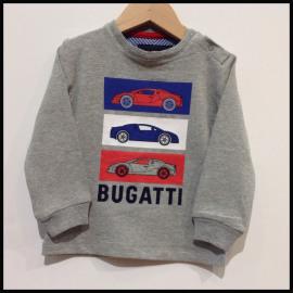 F2/BUGA/T.SHIRT GRIJS AUTO ROOD