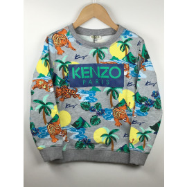 Kenzo-Sweater Print (JUNGLE)