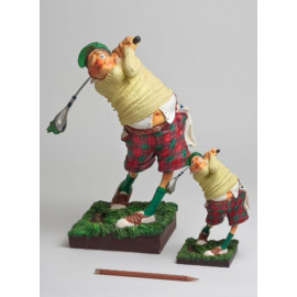 The Golfplayer 24cm