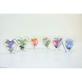 Kristal glas hart 12/20cm