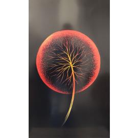 Dandelion Red ingelijst