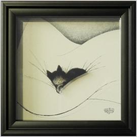 Gros Dodo / Cat Nap 14x14cm