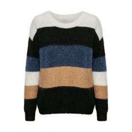 gestuz debbie striped pullover
