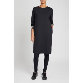 straight dress black 01 T1055 80