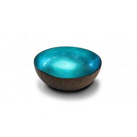 noya 0021 turquoise metallic leaf
