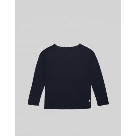 bellerose t-shirt macca navy