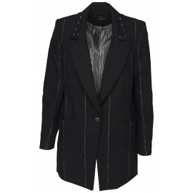 just eve jacket matt black