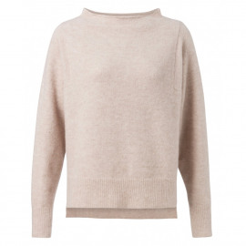 soft knit with batwing sleeves