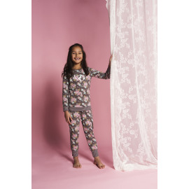 Pyjama  bloemetjes