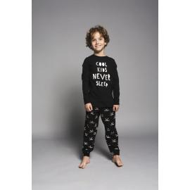 Pyjama Tough kids never sleep & dogprint