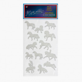 Lamicell Metallic Stickers Horses
