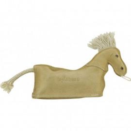 Diego & Louna Hondenspeelgoed Lederen Paardje