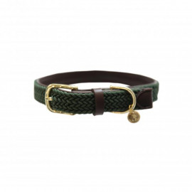 Kentucky Plaited Nylon Dog Collar