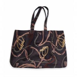 Adamsbro Equi Velvet Tote Bag