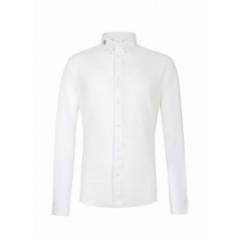 Cavalleria Toscana Perforated Power-On Shirt