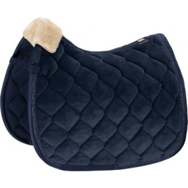 Eskadron Platinum Saddle cloth Velvet Crystal DR
