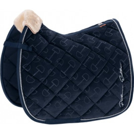 Eskadron Platinum Saddle cloth Velvet Stamp DR