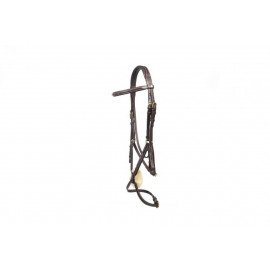 LJ Bridle New Pro Mexican Noseband