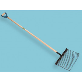 Shaving Fork Metal With Steel D-Grip