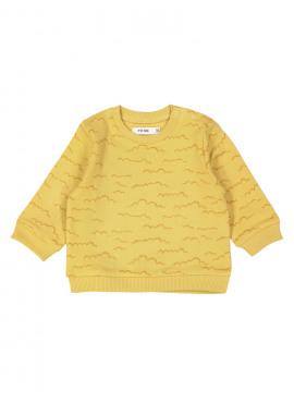 sweater clouds oker P'tit Filou  zomer 2019
