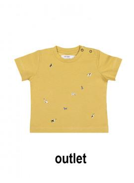 t-shirt small walk oker P'tit Filou  zomer 2019