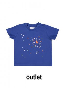t-shirt piñata felblauw P'tit Filou  zomer 2019