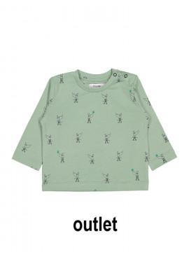 t-shirt robin rhino groen P'tit Filou  zomer 2019